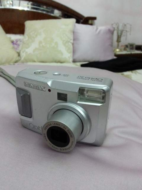 Macchinetta fotografica digitale pentax optio 30 zoom 3x -