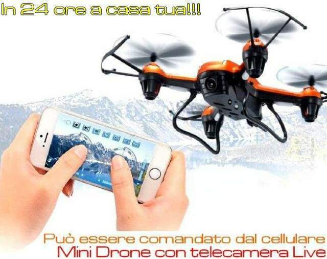 Mini drone con telecamera in diretta economico