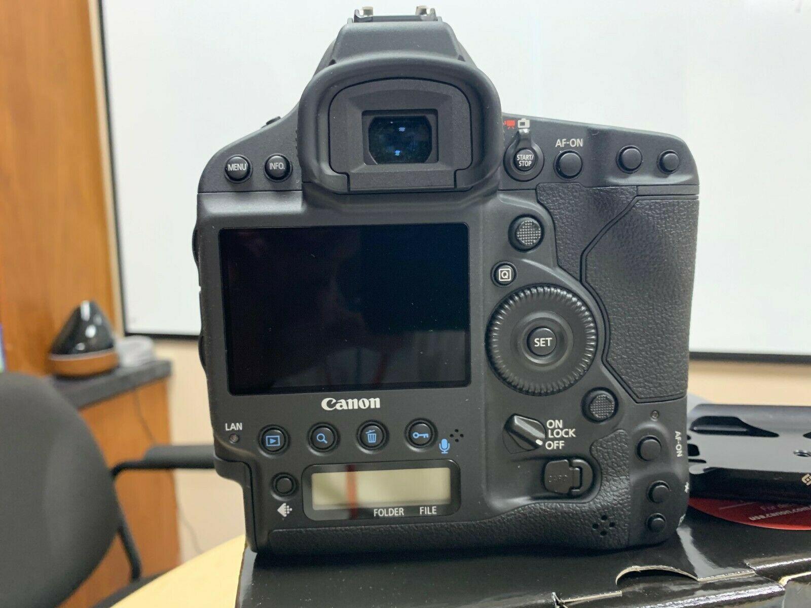 Canon EOS-1D X Mark II DSLR Camera Body