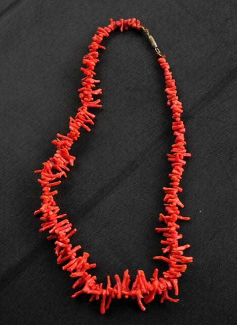 Collana in corallo