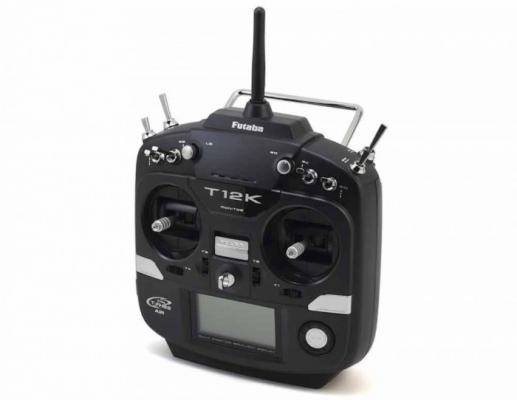 Futaba T12K mode 1/3 - Usata solo due mesi come radio