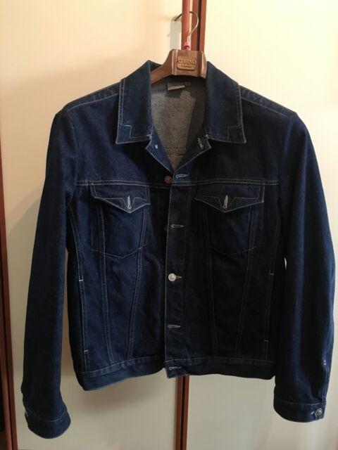 Giacca jeans uomo Versace originale