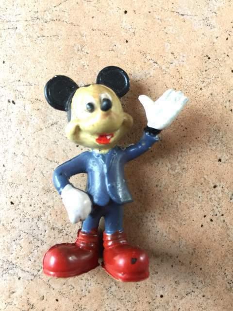 Disney Mickey Mouse Topolino originale Anni '70 Vintage da