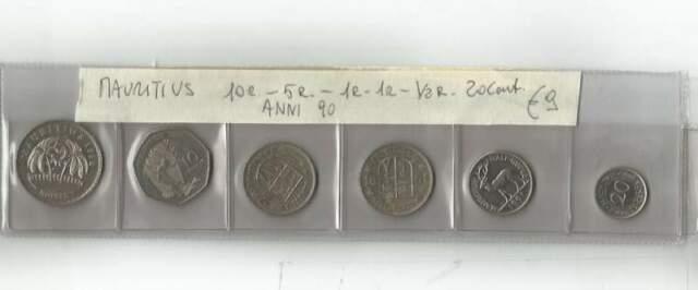 Monetazione di Mauritius