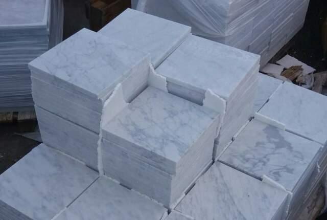Piastrelle Marmo Bianco Carrara