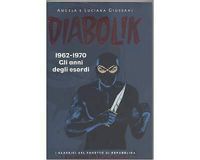 Diabolik - i grandi personaggi (serie completa 1-5 vol.)