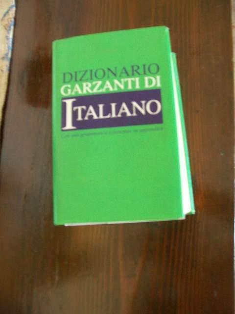 Dizionario garzanti di italiano