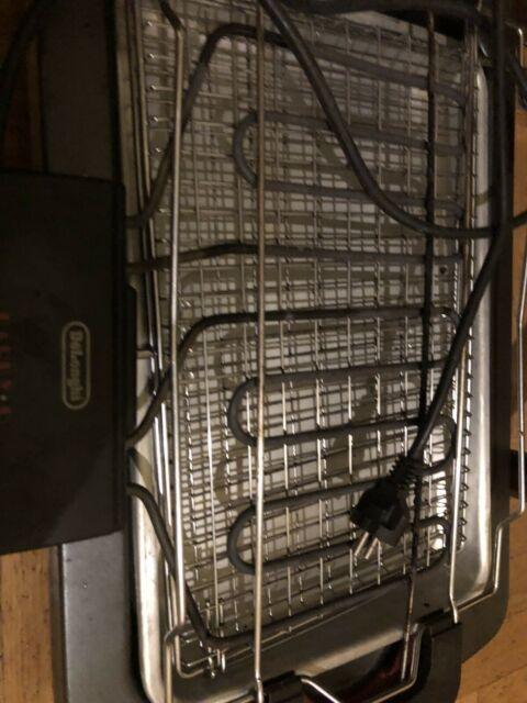 Griglia elettrica De Longhi grande piastra