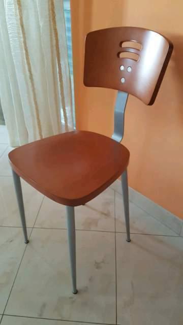 IKEA TERJE Sedia pieghevole BIANCO LEGNO MASSELLO SEDIA IN LEGNO SEDIA DESIGN SEDIA CUCINA NUOVO