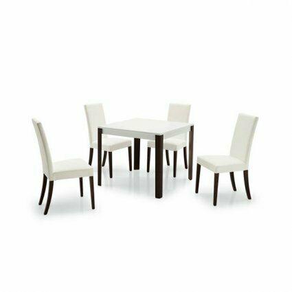 Sedie imbottite e tavolo in legno Set Zoe ristoranti