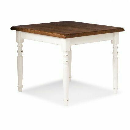 Tavolo rustico in legno stile shabby chic