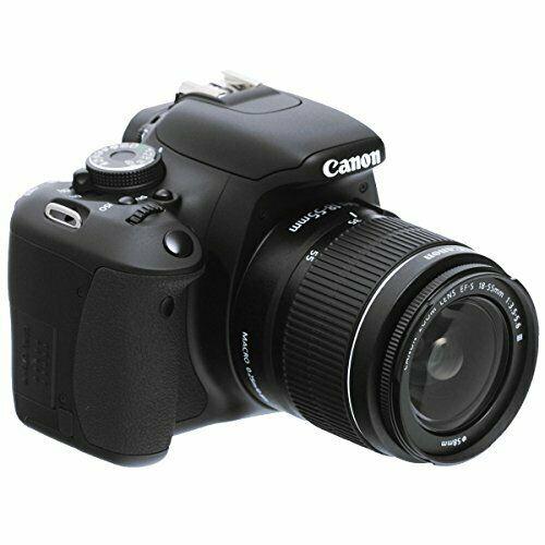Canon EOS 600D Fotocamera Reflex con Obiettivo EF-S mm