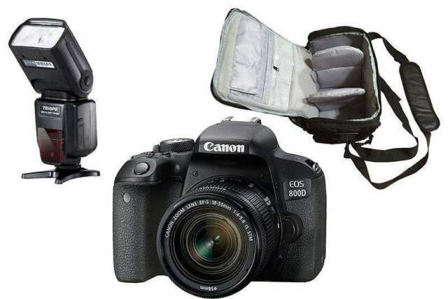 Canon EOS 800D +  IS STM