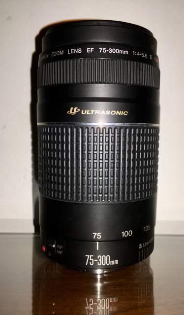 Canon Obbiettivo Zoom EF  mm f/4-5.6 USM