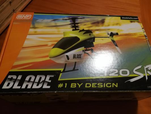 Elicottero blade 120 Sr + varie