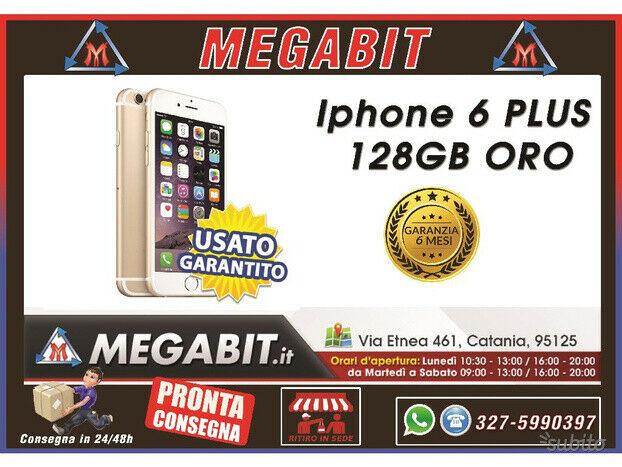Iphone 6 Plus 128gb Oro con Garanzia