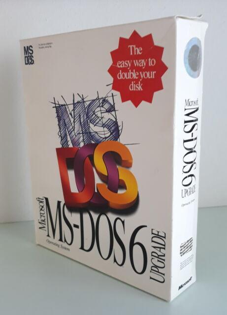Ms Dos 6 Upgrade (da collezione)