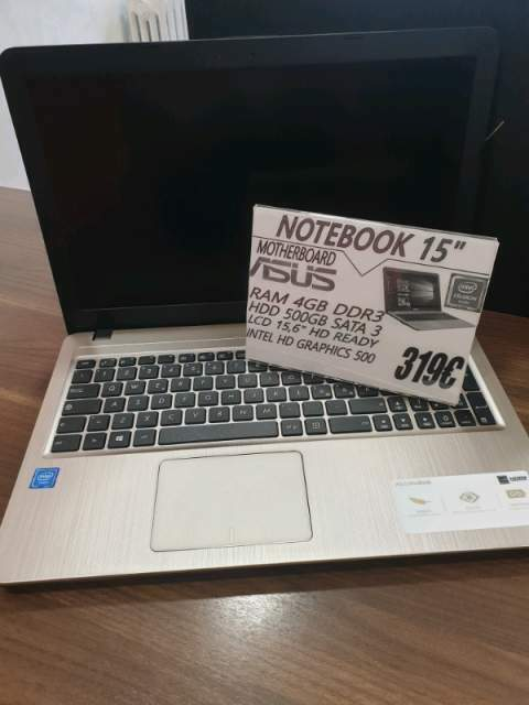 Notebook ASUS nuovo 15''