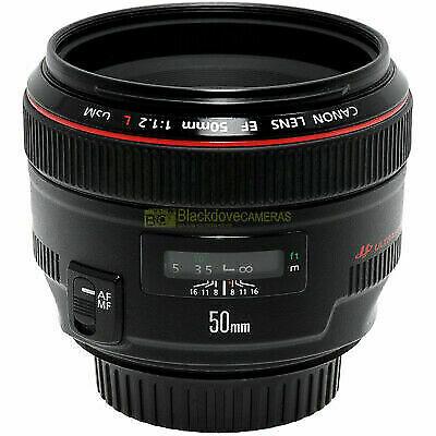 Canon EF 50mm. f1,2 L USM obiettivo FX per fotocamere EOS