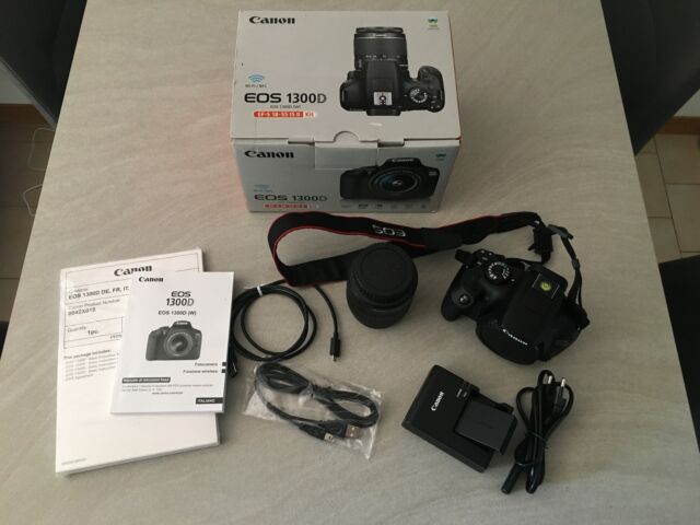 Canon EOS D kit completo