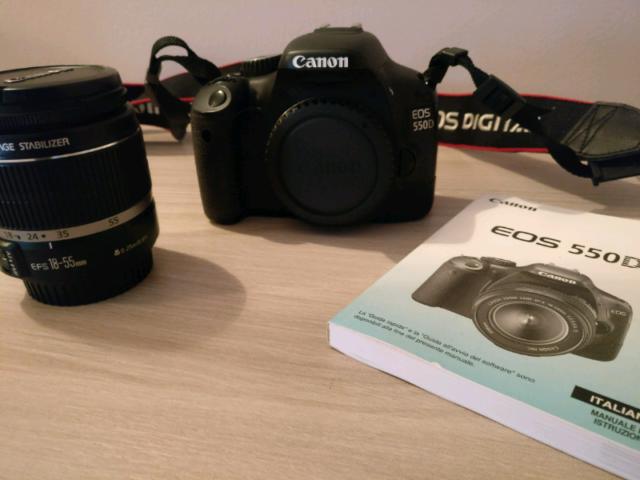 Canon Eos 550d + Canon mm