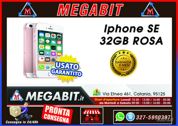 IPhone SE 32GB Rosa con garanzia