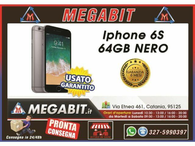 Iphone 6S 64Gb Nero con Garanzia