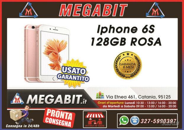 Iphone 6s 128gb rosa con garanzia