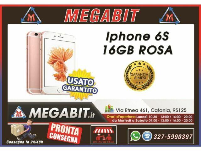 Iphone 6s 16gb rosa con Garanzia