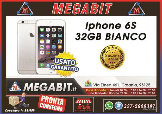Iphone 6s 32gb bianco con garanzia