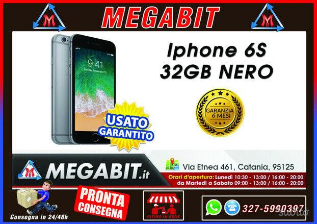 Iphone 6s 32gb nero con garanzia