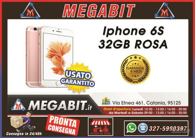 Iphone 6s 32gb rosa con garanzia