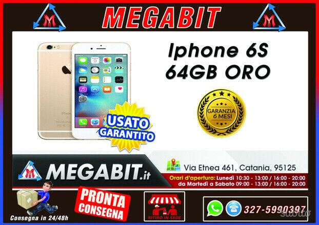 Iphone 6s 64gb oro con garanzia