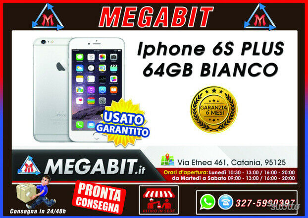 Iphone 6s plus 64gb bianco