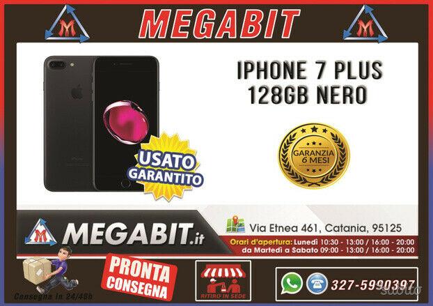 Iphone 7 plus 128gb nero con garanzia