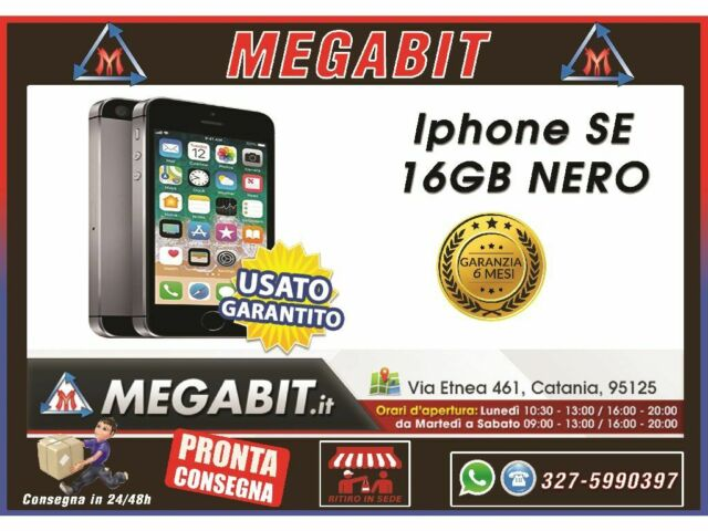 Iphone SE 16gb Nero con Garanzia