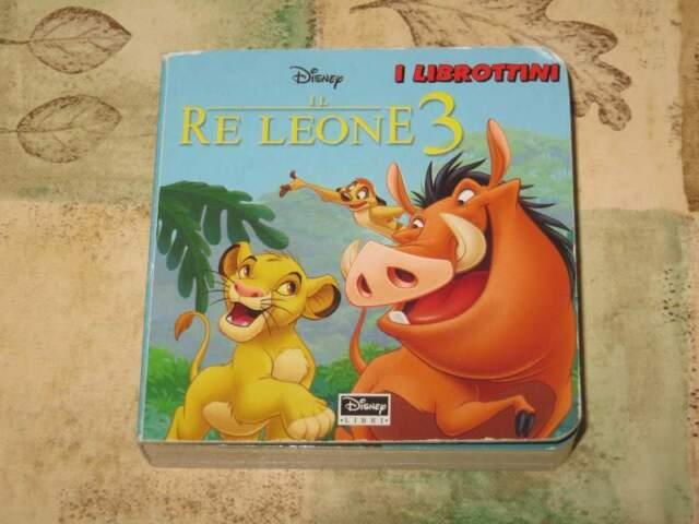 Libro per bambini: Il re leone 3