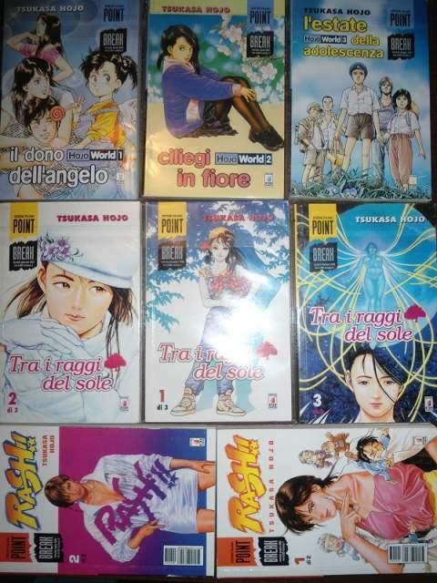 Manga miniserie t.hojo