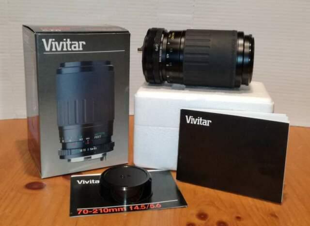 Obiettivo zoom Vivitar mm Canon FD, f