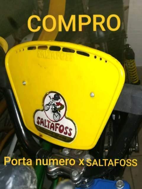 Cerco: Cer-co: porta numero per bici cross saltafoss