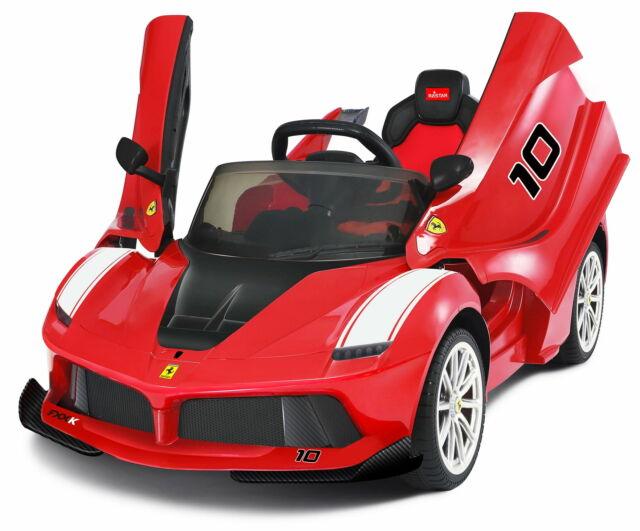 Macchina Elettrica Per Bambini 12v Ferrari La Ferrari Rossa