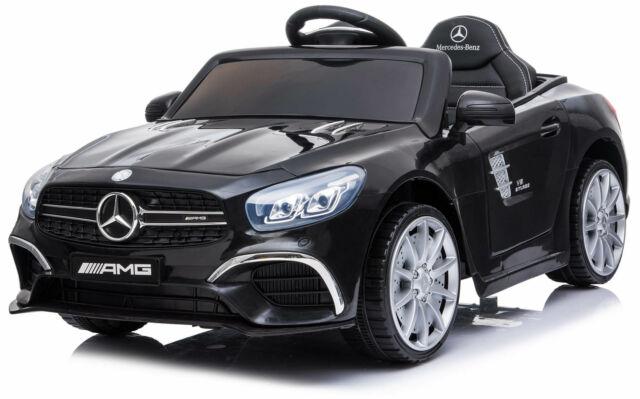 Macchina Elettrica Per Bambini 6v Mercedes Sl63 Amg Nera