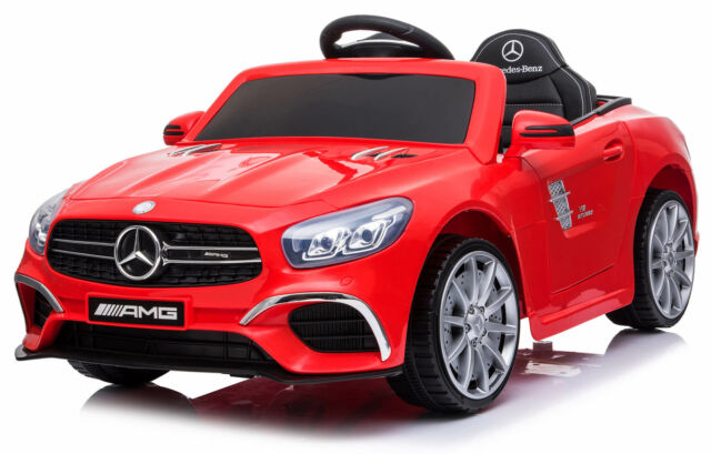 Macchina Elettrica Per Bambini 6v Mercedes Sl63 Amg Rossa