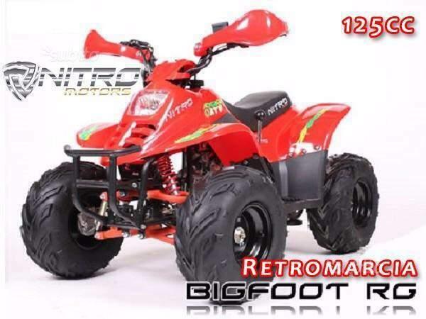 Miniquad big foot 125cc 4tempi nuovo
