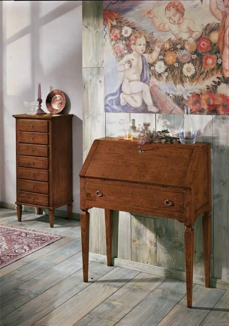 Arredi Artepovera Classici: Bureau in Legno cod 546 color