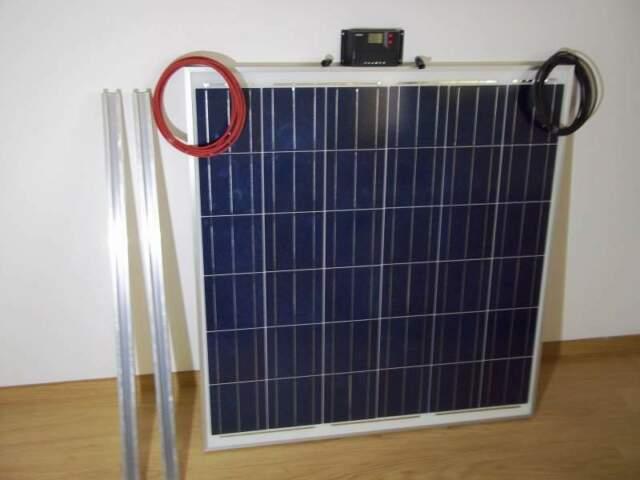 Kit pannello solare per camper 160w