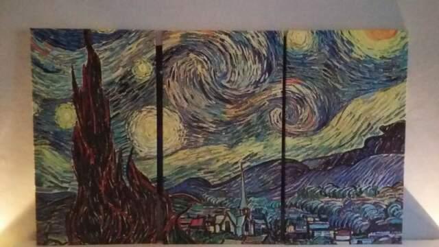 Stampa notte stellata Van Gogh