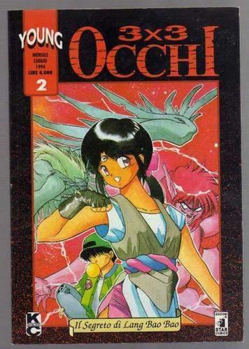 3x3 OCCHI n. 2 - Ed. Star Comics - luglio