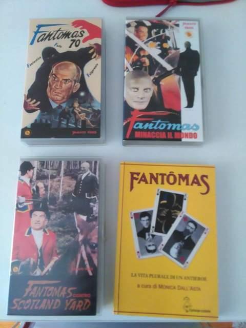 Fantomas - Collezione Film e Libri