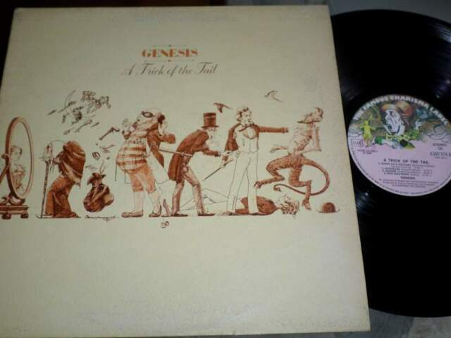 GENESIS - A Trick Of The Tail - LP / 33 giri  Gatefold